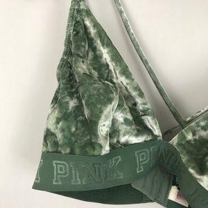 1fabf91940e62 PINK Victoria s Secret Intimates   Sleepwear - Victoria s Secret Aqua  Velvet Triangle Bralette